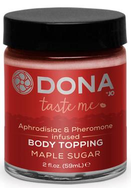 Крем-карамель для тела Dona Body Topping Maple Sugar 60 мл